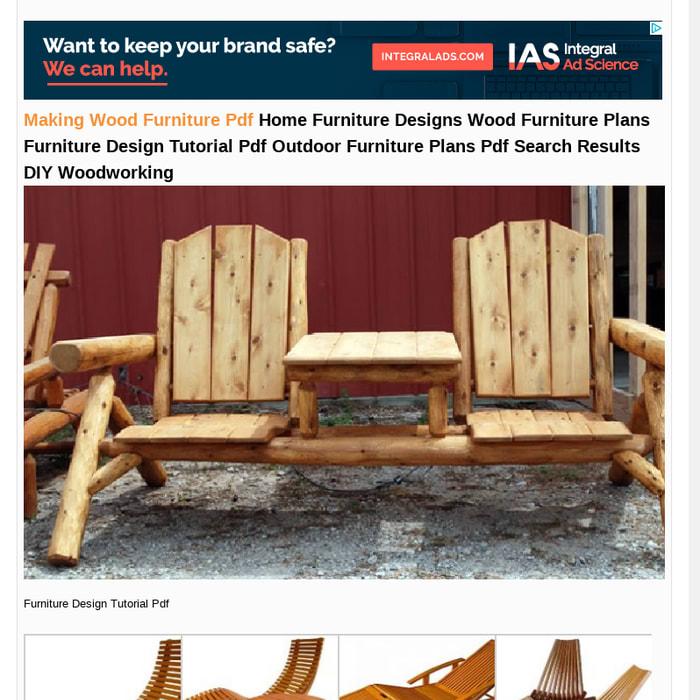 Mix Making Wood Furniture Pdf