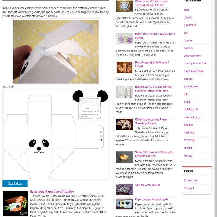 Mix · paper crafts: make a panda gift candy box tutorial