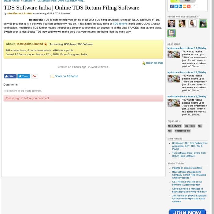 Mix Tds Software India Online Tds Return Filing Software By