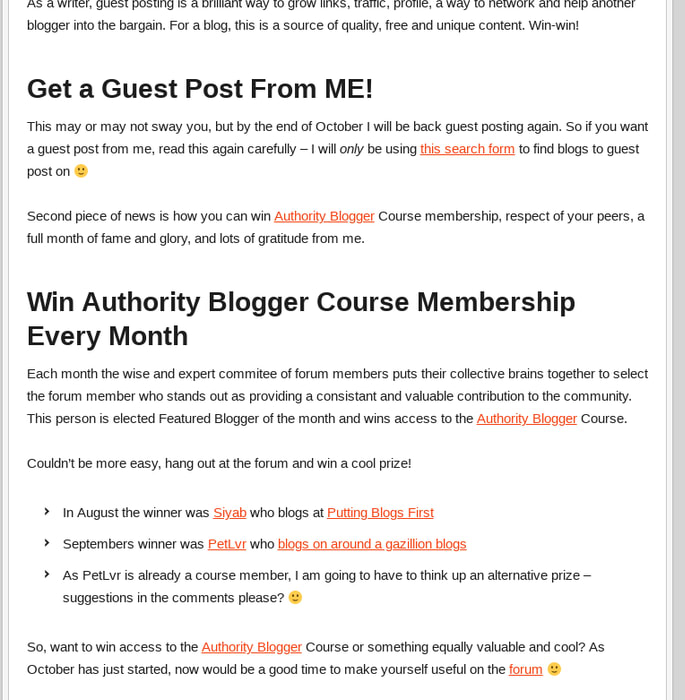 Mix · Authority Blogger Forum News, Guest Posts and Win Cool