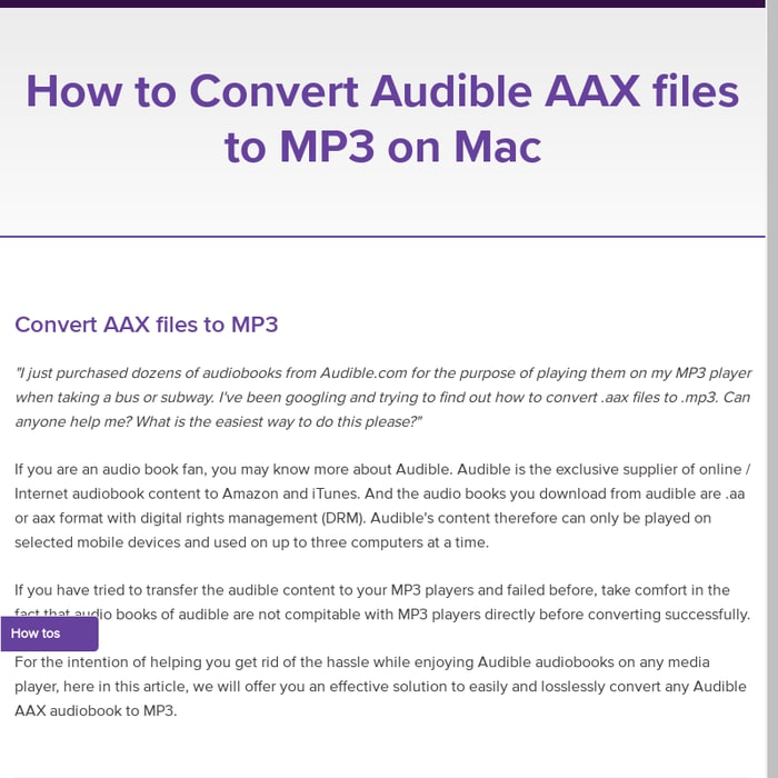 Aax to mp3 converter online
