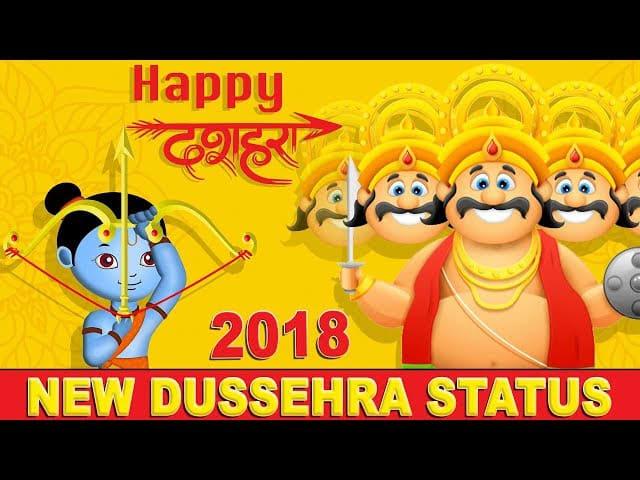 Mix Happy Dussehra Raavan Vadh Special Animation