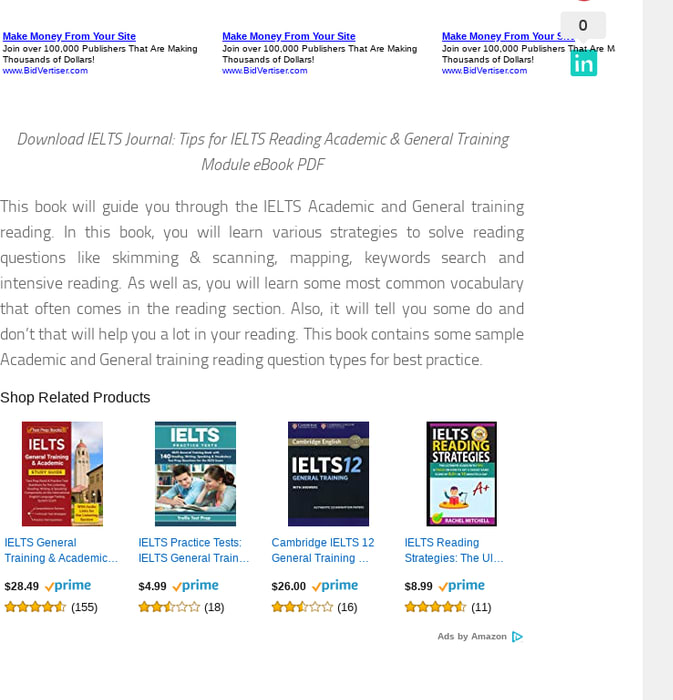 Mix · IELTS Journal: Tips for IELTS Reading Academic