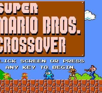 Mix · Super Mario Bros  Crossover