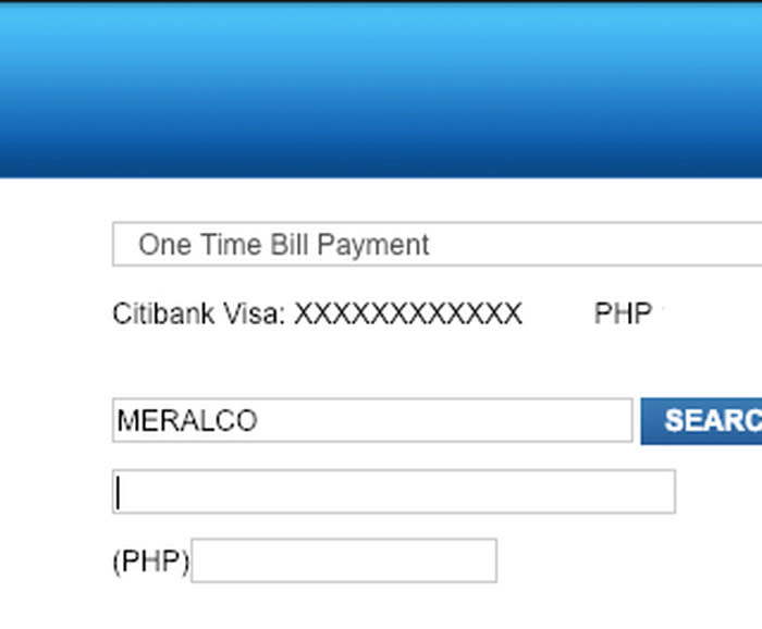 Citibank Credit Card Payment Online >> Mix How To Pay Utility Bills Online Using Citibank Credit