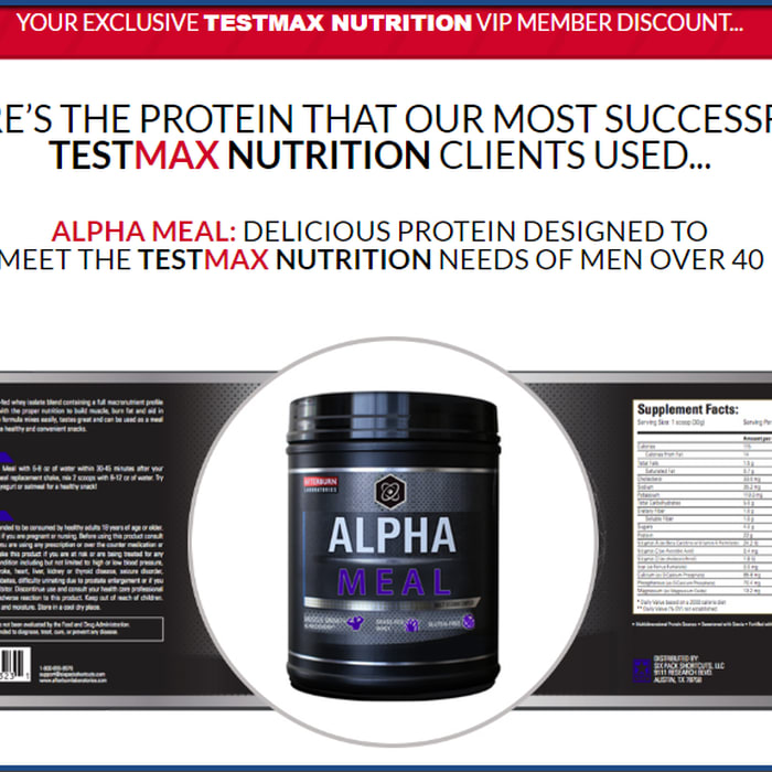 Mix · Alpha Meal Review - Simple yet