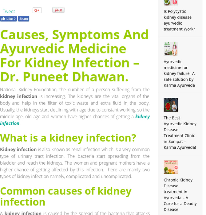 Mix · Ayurvedic Medicine For Kidney Infection Treatment