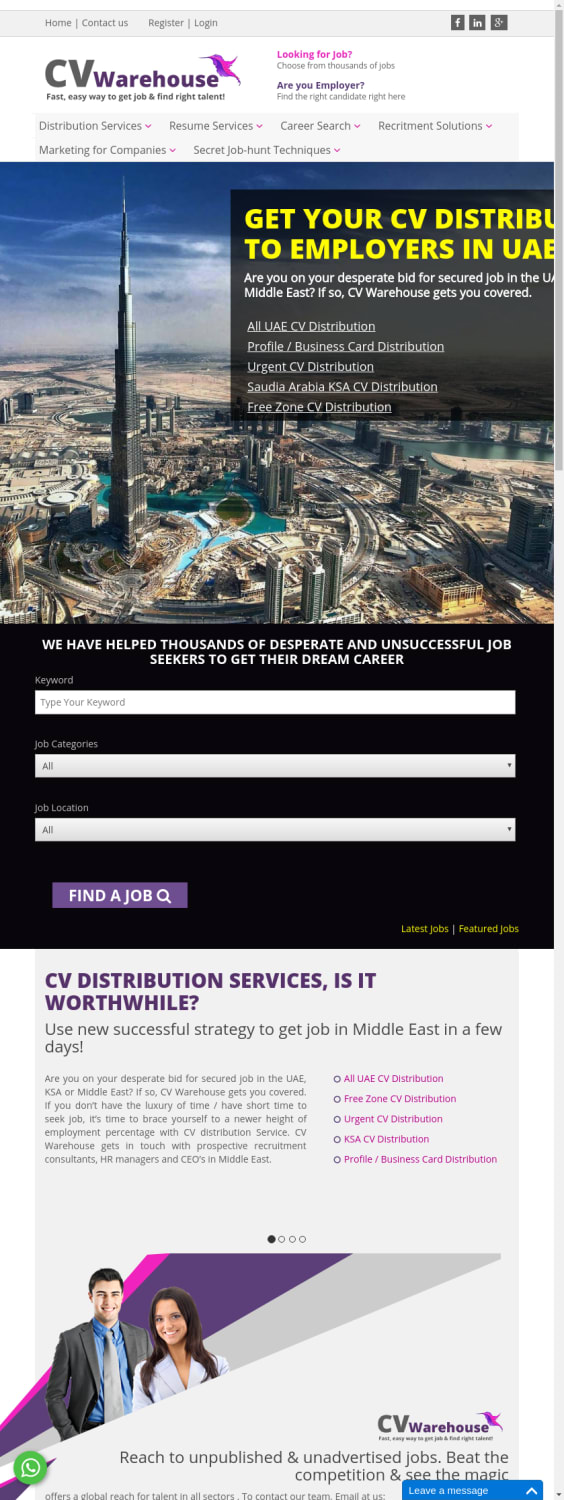 Mix · CV Distribution Services in Dubai And UAE