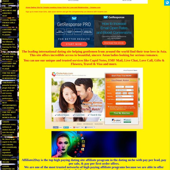 Asian dating affiliate-program