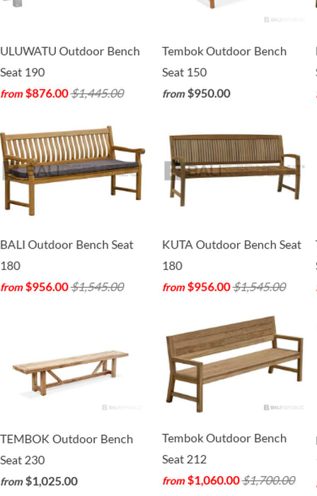 Cool Mix Teak Bench Seats Premium Grade Outdoor Timber Bench Short Links Chair Design For Home Short Linksinfo