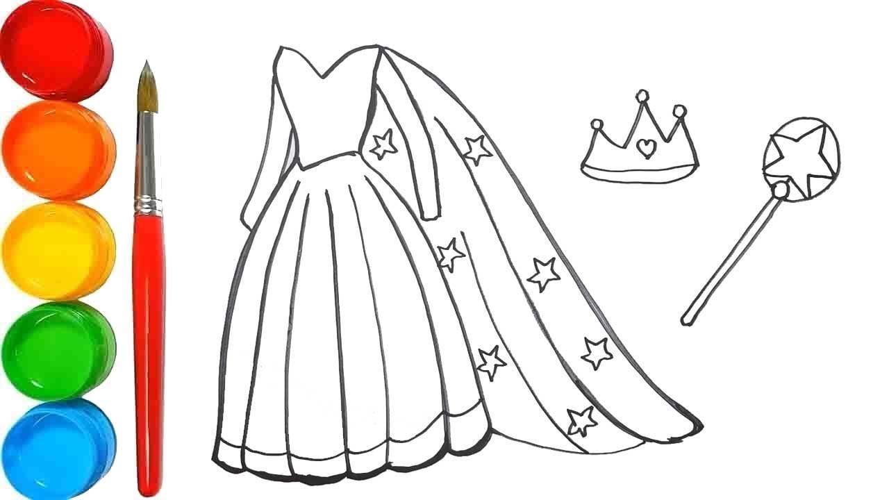 Mix · Pelajari Cara Menggambar Dan Mewarnai Gaun Putri Elsa