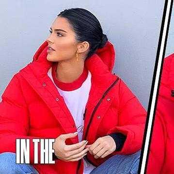 ac37ec900 Mix · Kendall Jenner as the Aritzia Super Puff Girl: The Instagram Hype