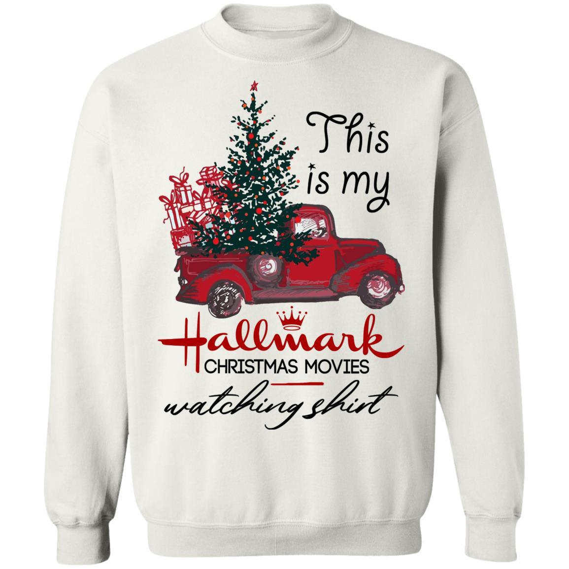 Hallmark Christmas Shirt Svg.Mix This Is My Hallmark Christmas Movie Watching