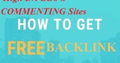 Mix · 70+ High DA Blog Comment Sites 2019 to get free Backlink