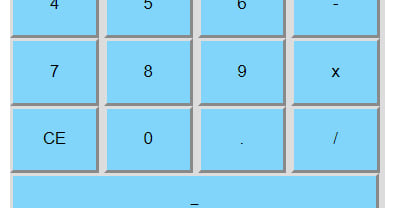 Mix · Create Simple Calculator using JQuery, HTML and CSS