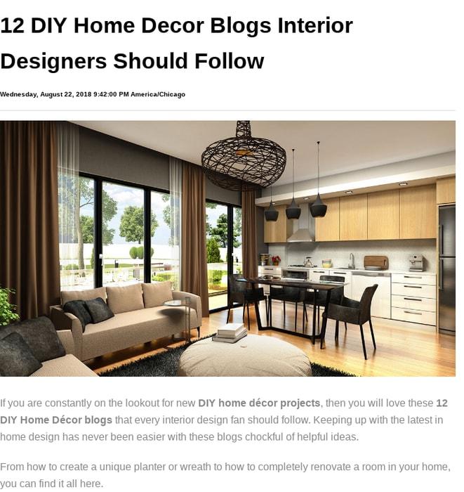 Mix 12 Diy Home Decor Blogs Interior Designers Should