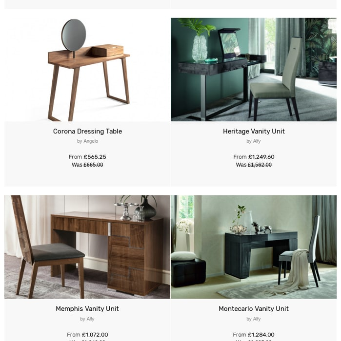 Modern Contemporary Dressing Tables