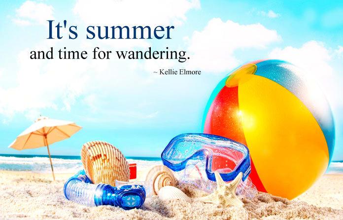 Mix Summer Vacation Quotes Sayings Happy Summer Holidays