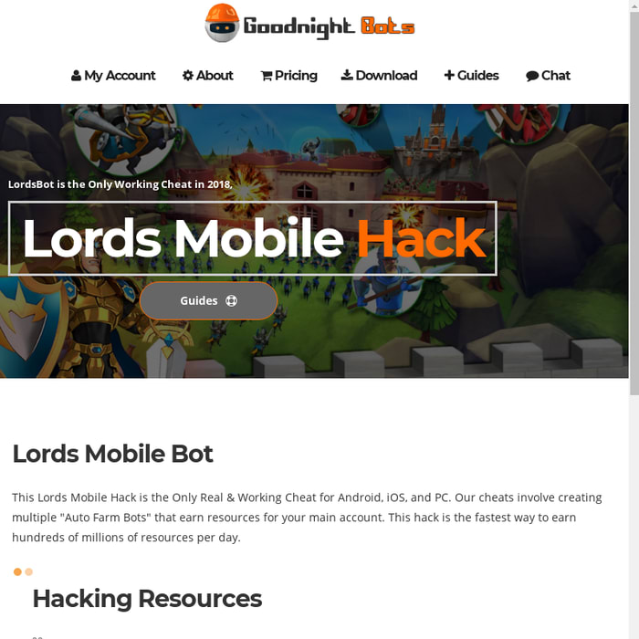 Mix · Lords Mobile Hack | Auto Farm Bot & Cheats | LordsBot