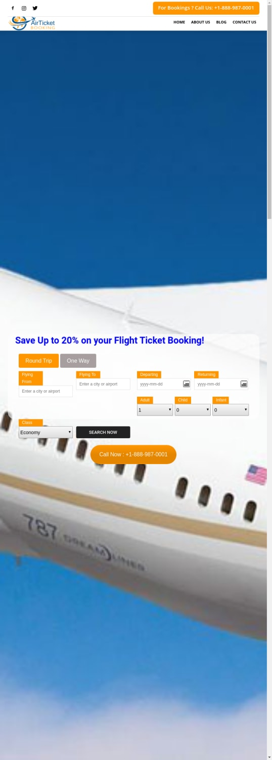 Mix · Search Domain · myairticketbooking com