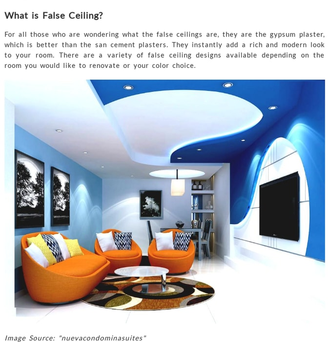 Mix Add The Elegance With False Ceiling