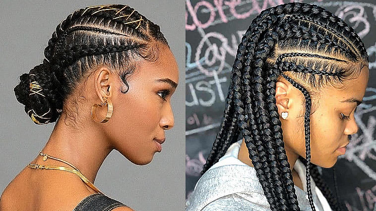 Mix · 15 Best Ghana Braided Hairstyles to Try in 2019-2020