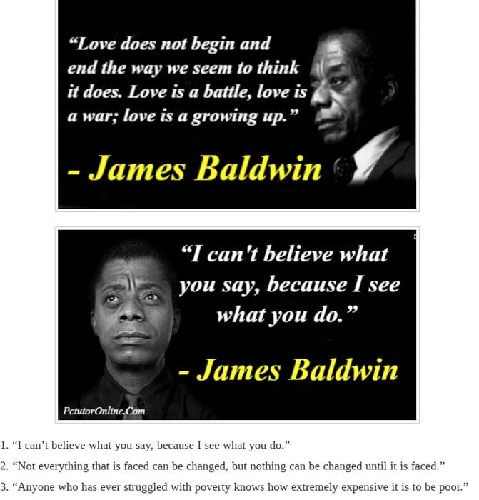 Mix · 45 Best James Baldwin Quotes