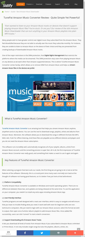 Mix · TunePat Amazon Music Converter Review