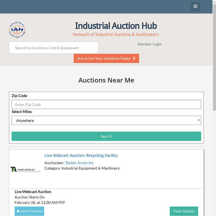 Mix Industrial Auctions Near Me Find Auctions Nearby You